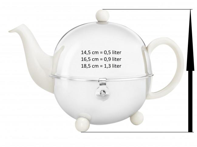 Teapot for Cosy 1300W cream white