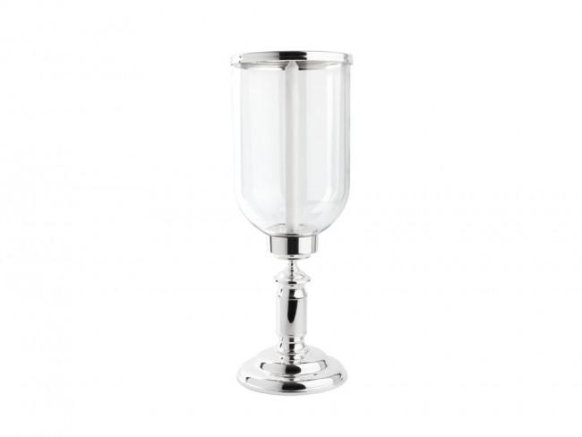 Hurricane lamp Icona glass/sp/l base