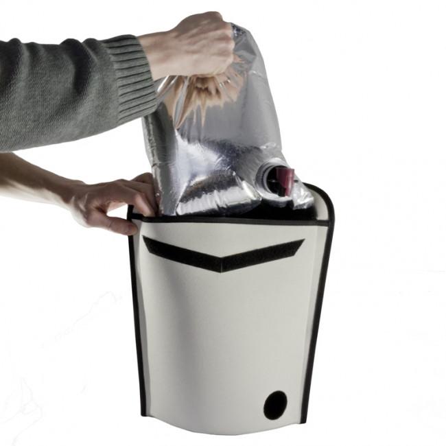 Travel cooler wine bag
