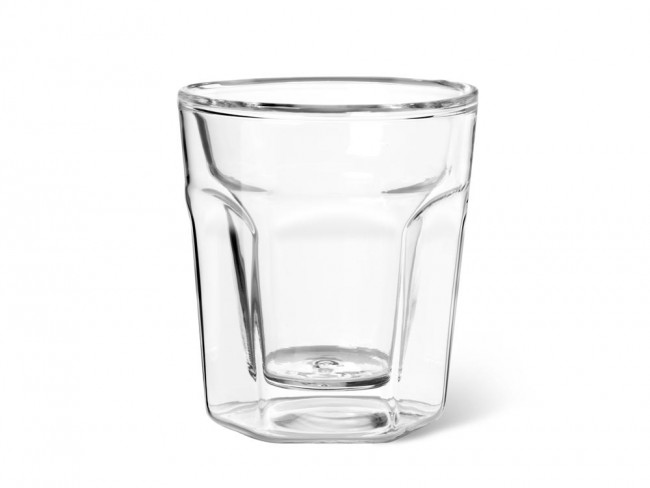 Double walled glass Espresso 100ml s/2
