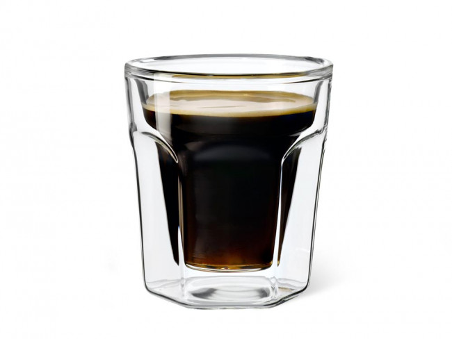 Double walled glass Espresso 100ml s/2