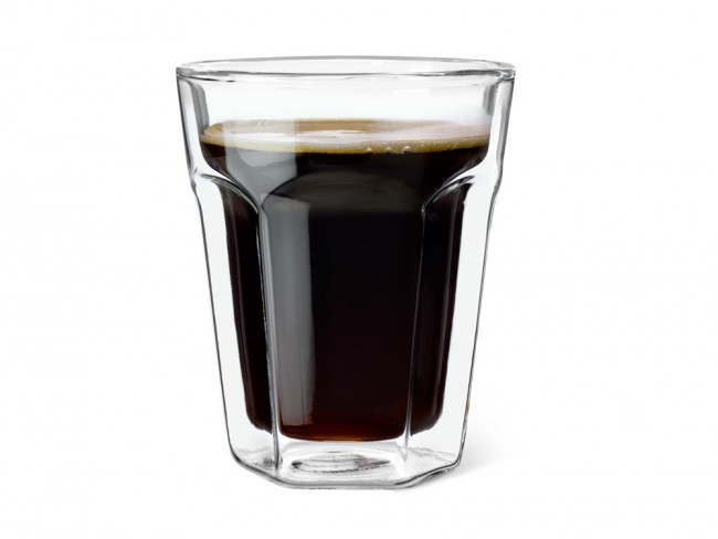 Double Walled Glass Espresso, 220ml, set of 2