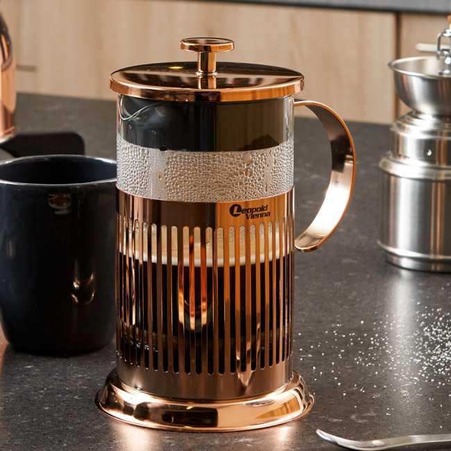 Coffee Maker French Press Copper
