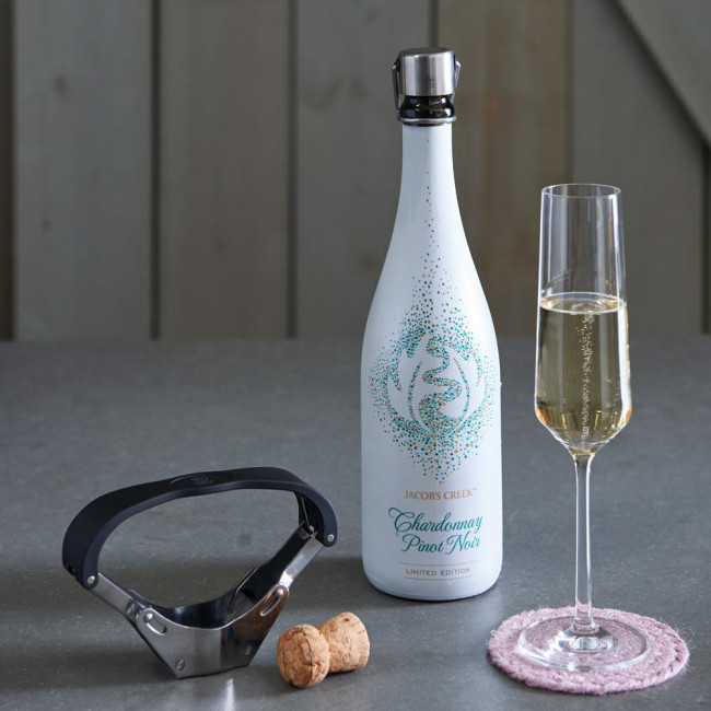 Champagne bottle opener Pressa