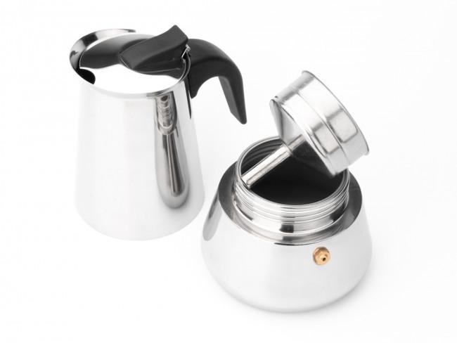 Espresso maker Trevi 6 cups s/s