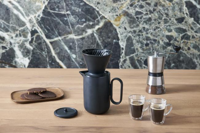 Coffee filter Palermo black