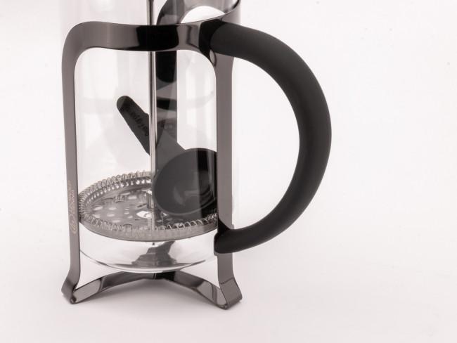 Coffee Maker Shiny Black 1.0L