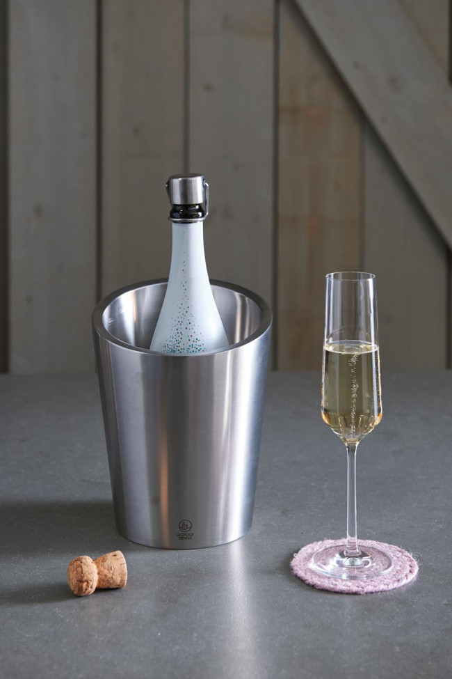 Champagne cooler double walled