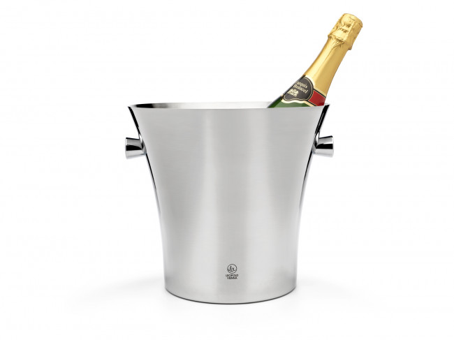 Champagne cooler single walled with grips