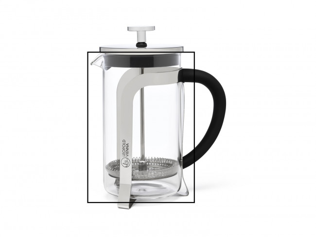 Glass coffee & tea maker Shiny LV117013