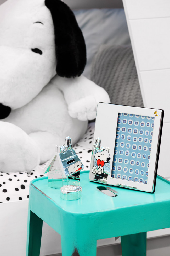 Tooth/haircurl box Snoopy sp/l