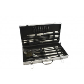 Barbecue case, 18 pieces