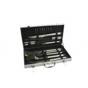 Barbecue case, 18 pieces