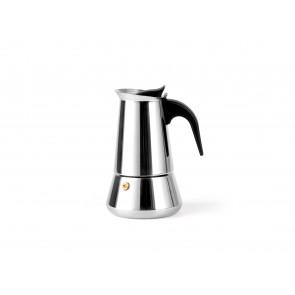 Espressokocher Trevi für 4 Tassen Edelstahl 102x128x169mm