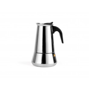 Espresso maker Trevi for 6 cups, stainless steel