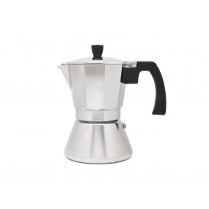 Espresso maker Tivoli aluminium 6cups with induction