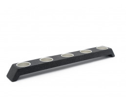 Oblique Tealight holder sandstone resin