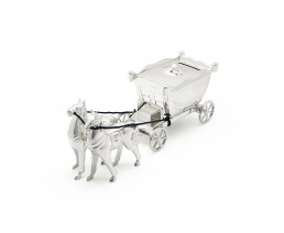 Money box Coach with horses sp/l