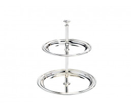 Serving stand Elegance 2-tier 11,5x14cm sp