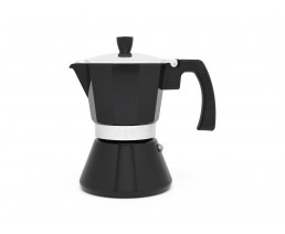 Espresso maker Tivoli 6 cups black