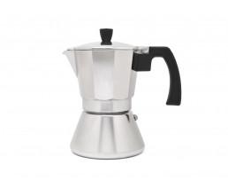 Espresso maker Tivoli 6 cups aluminium