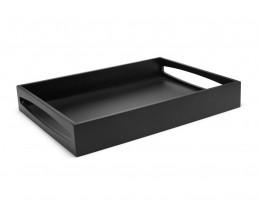Tray 40x30x6cm MDF black